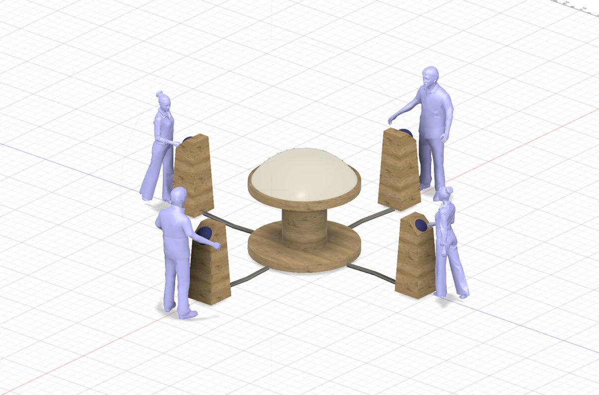 The Listener 3D Concept Rendering